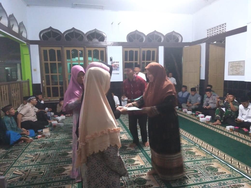 Tarkhim di Masjid Baiturrohman Krendetan