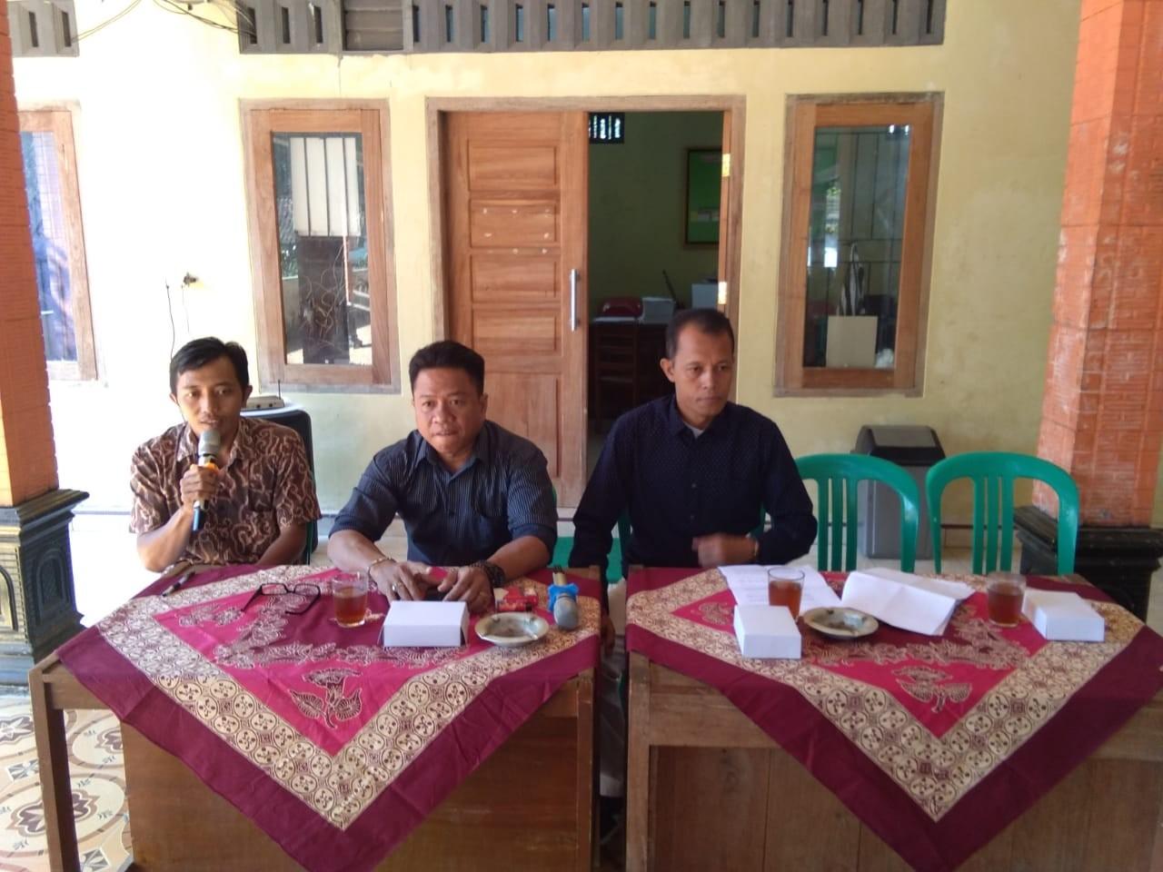 Monitoring pengisian Perangkat Desa